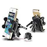 Insten Car Air Vent Phone Holder For iPhone 8/ 8 Plus/ X/ 7/ 7 Plus, Galaxy S7 Edge/ S7/ On5/ Ace/ Luna/ Sky; LG G5/ G6/ LV3/ Aristo; ZTE Grand X 4/ Quest; Moto G4 Play; Coolpad Catalyst, Black