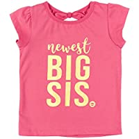 "Big Sister Shirt Baby Announcement Fayfaire Boutique ""Newest Big Sis"" 2T-4T"