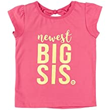 "Big Sister Baby Announcement Shirt Fayfaire Boutique ""Newest Big Sis"" Pink 2T-4T"