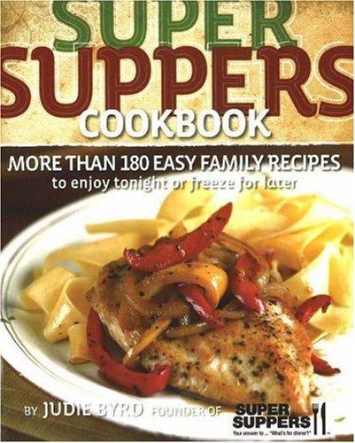 Super Suppers Cookbook PDF