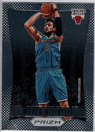 f33a319174b Amazon.com  Basketball NBA 2012-13 Panini Prizm  38 Marco Belinelli ...