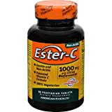 4 Pack of American Health Ester-C with Citrus Bioflavonoids - 1000 mg - 90 Vegetarian Tablets - - -
