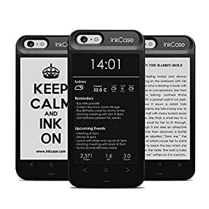 """Oaxis Inkcase i6, 4.3"""" E-Ink eReader for iPhone 6 / 6S, Smart Bluetooth Protective Back Case with Second Display, eBook / News / Pocket / Note (For iPhone 6 / 6S)"""