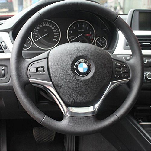 Vesul Chrome Steering Wheel Panel Cover Badge Insert Trim For BMW 3 Series F30 320 2013 2014 1 Series F20 116 from Vesul