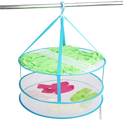 Portable Hanging Drying Rack Mesh Clothes Dryer Net