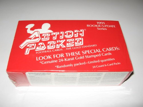 Packed Box (1991 Action Packed Football Rookie Update Box)