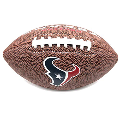 Jarden Sports Licensing Official National Football League Fan Shop Authentic NFL AIR IT Out Mini Youth Football. Great for Pick up Game with The Kids. (Houston Texans)