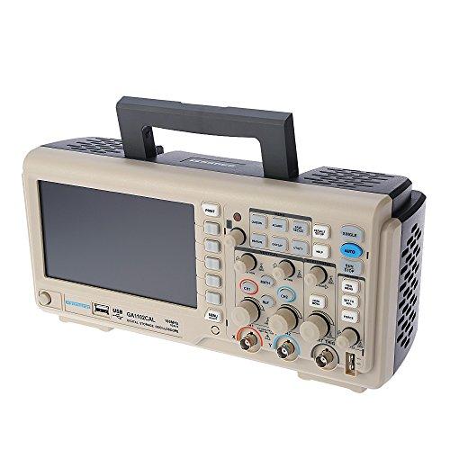 Osciloscópio Digital 100 MHz 2 canais Gratten GA1102CAL