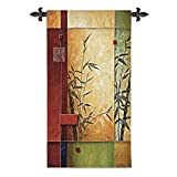 Fine Art Tapestries ''Garden Dance I Wall Tapestry