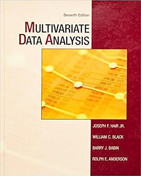 Amazon Com Multivariate Data Analysis 7th Edition 9780138132637 Hair Jr Joseph F Black William C Babin Barry J Anderson Rolph E Books