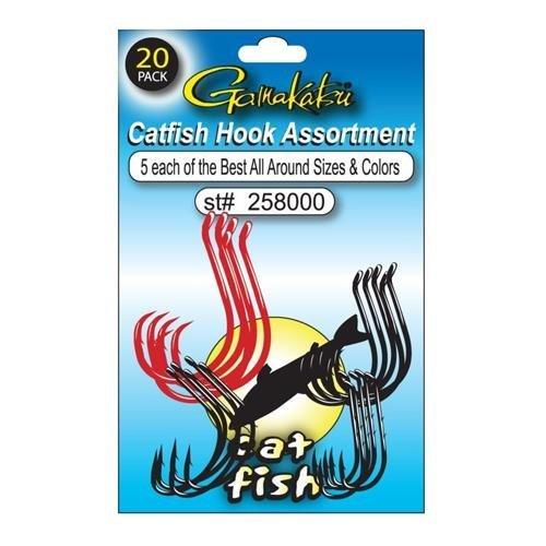 Gamakatsu Catfish Hook Assortment 20 Pack 258000