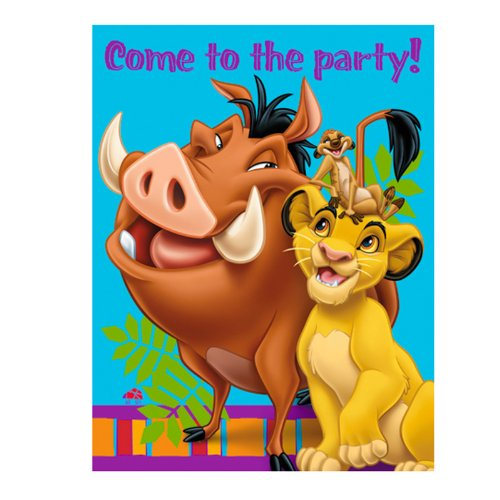 Hallmark - Disney The Lion King Invitations