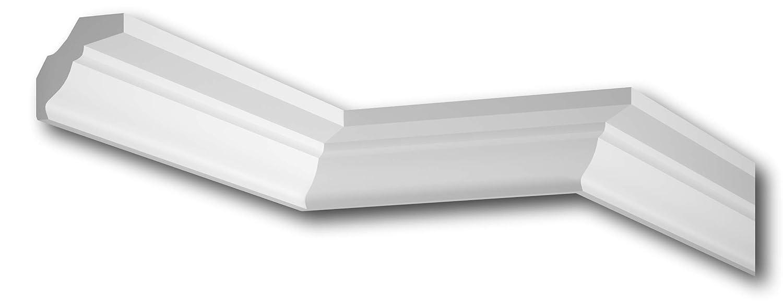 MARDOM DECOR Deckenleiste I MDB174 I Polyurethan Premium Stuckleiste Wandleiste /& Zierleiste I 240 cm x 5,5 cm x 5,5 cm