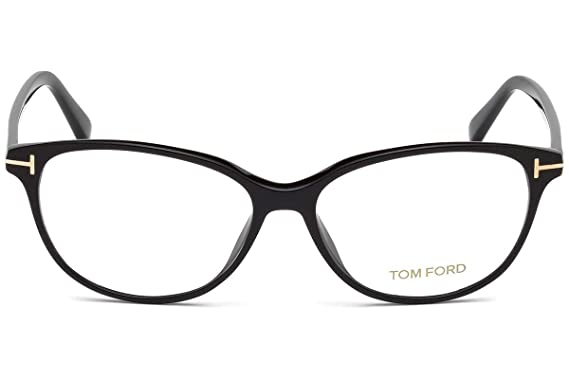 70d0eb31707 Image Unavailable. Image not available for. Color  Tom Ford FT5421  Eyeglasses 53-14-140 Shiny Black 001 TF5421