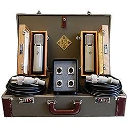 TELEFUNKEN Elektroakustik ELA M 251 Stereo Set | Diamond Series AC701 Tube Condensor Vintage Microphone Stereo Set