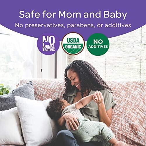 51m0O34Mt2L. AC - Lansinoh Organic Nipple Cream For Breastfeeding, 2 Ounces