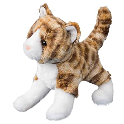 Douglas Sadie Tiger Stripe Cat Plush Stuffed Animal: Toys & Games