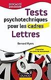 Tests psychotechniques pour les cadres - Lettres