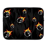 Be Careful Of Bombs Laptop Sleeve Egiant Waterproof Protective Fabric Notebook Bag Case 15 Inch