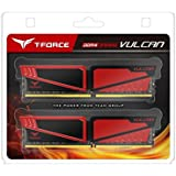 Team T-Force Vulcan 16GB (2 x 8GB) 288-Pin SDRAM DDR4 3000 (PC4 24000) Memory TLRED416G3000HC16CDC01