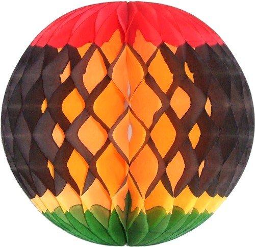 (3-Pack 8 Inch Kwanzaa Decoration Honeycomb Tissue)