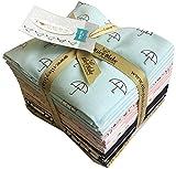 Riley Blake WHEN SKIES ARE GREY Fat Quarter Bundle 21 Precut Cotton Fabric Quilting FQs Assortment FQ-5600-21