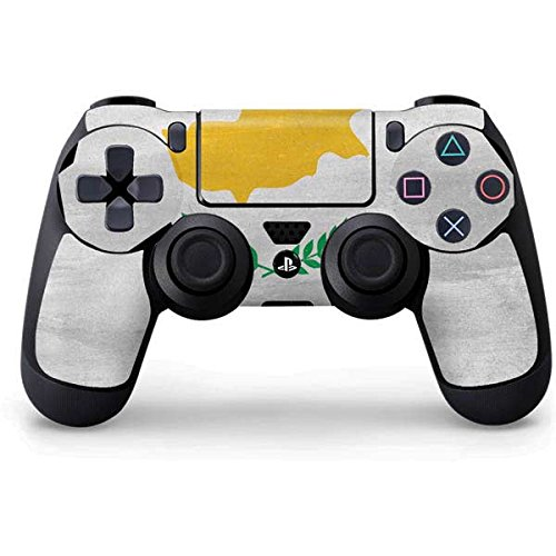 Countries of the World PS4 Controller Skin - Cyprus Flag Distressed