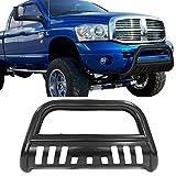 Bull Bar Fits 2002-2005 Dodge Ram 2003-2009 Ram 2500 3500 | Front Bumper Brush Grille Guard by IKON MOTORSPORTS | 2003 2004