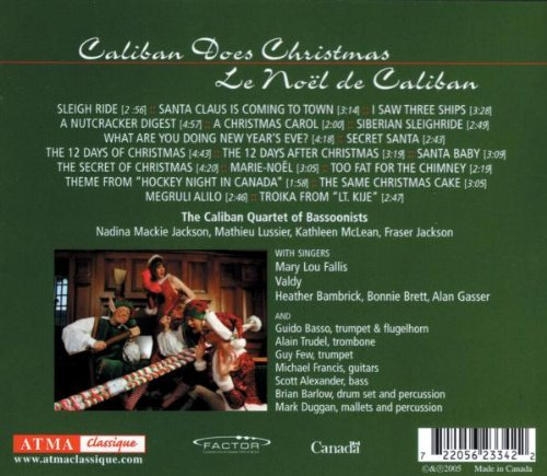 Caliban does Christmas by ATMA Classique