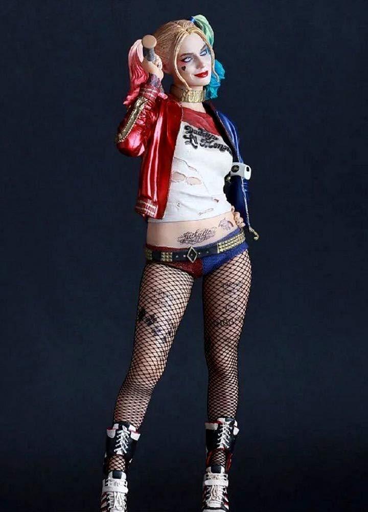 Ragazza Carnevale Suicide Film Harley KIRALOVE Calze a Rete Costume Halloween Idea Regalo Originale Cosplay