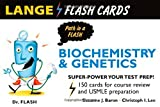 Lange Biochemistry and Genetics Flash Cards (LANGE FlashCards)