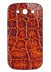 Case Fun Samsung Galaxy S3 (I9300) Case - Vogue Version - 3D Full Wrap - Crocodile Skin