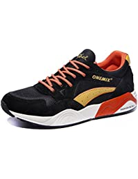 Men's Fashion Vintage Sneakers Casual Breathable Walking...
