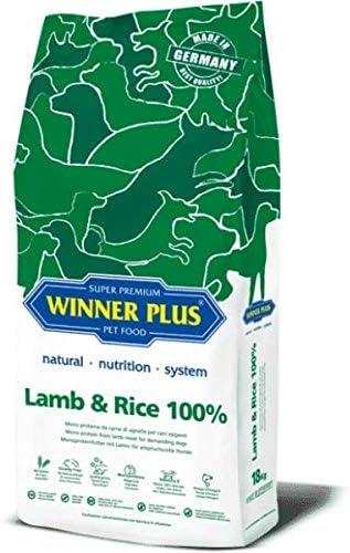 Winner Plus Lamb & Rice 100% 18 kg – Mono Proteina de carne ...