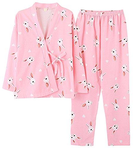 Donna notte da PajamaMax Rosa Camicia qaXwf4