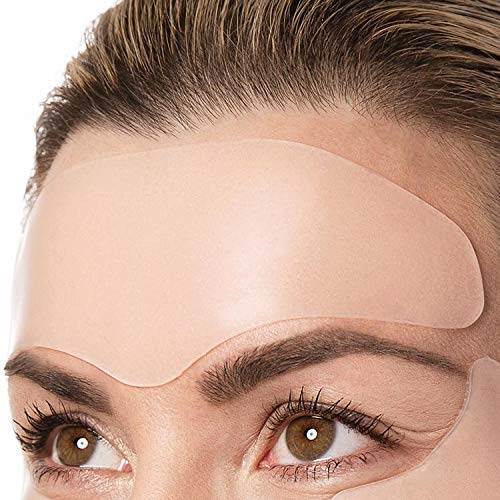 51m0SukylqL - Overnight Lift Brow Lift Forehead Anti- Wrinkle Patch - Reusable Smoothing 100% Silicone Patch Expression Lines Creases Self-Adhesive