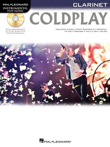 Coldplay: for Clarinet (Hal Leonard Instrumental Play-Along)