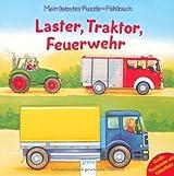 Laster, Traktor, Feuerwehr: Mein liebstes Puzzle-Fühlbuch