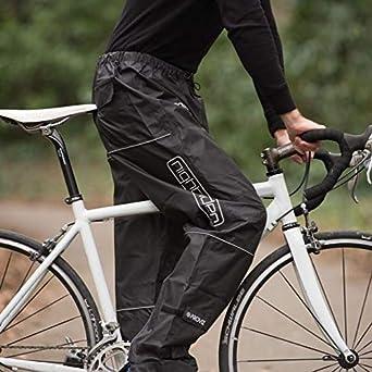 Black Proviz Nightrider Waterproof Trousers