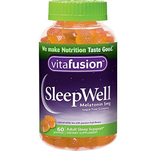 Amazon.com: Vitafusion SleepWell Gummies White Tea with Passion Fruit 60 Each (Pack of 4): Health & Personal Care