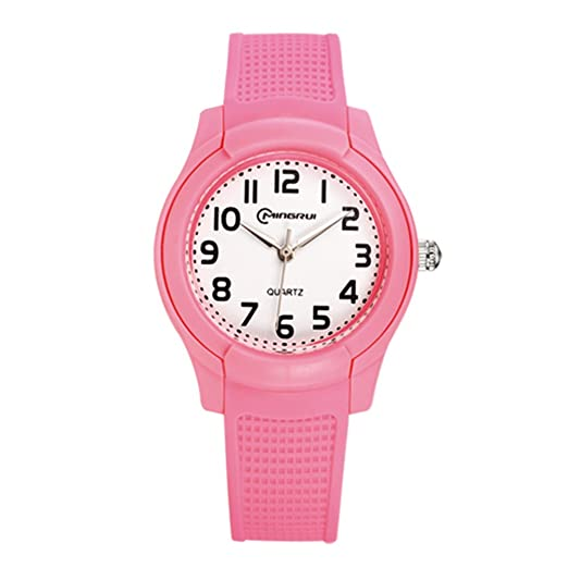 Relojes baratos para hombre y mujer/Reloj de cuarzo de moda/Impermeable reloj deportivo-D: Amazon.es: Relojes