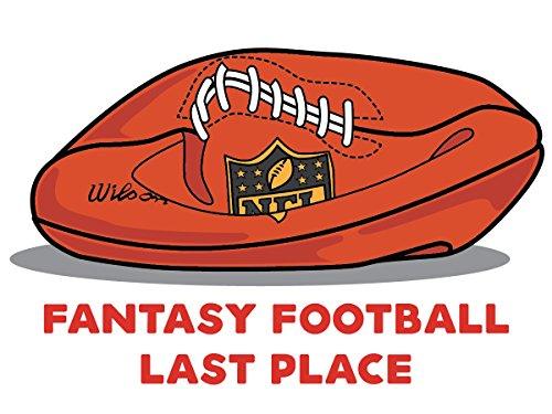 Fantasy Football Loser Temporary Tattoo - Deflated Football (Best Fantasy Football Punishments)