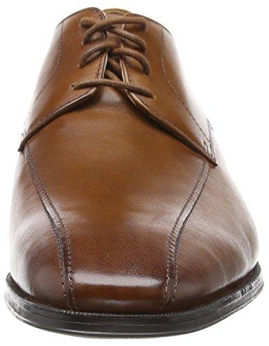 Derby Marrone Mode Tan Stringate Clarks Dark Scarpe Uomo Leather Gilman 7nSxqYYTaI