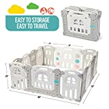 Play22 Foldable Baby Playpen 14 Panel - Kids Safety