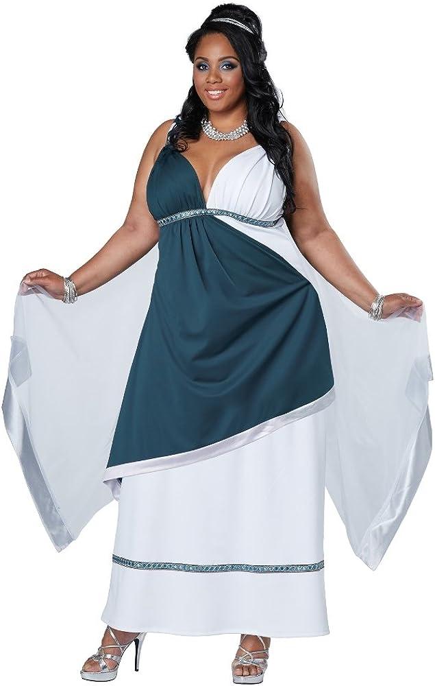 Disfraz de romana para mujer talla grande: Amazon.es: Ropa y ...
