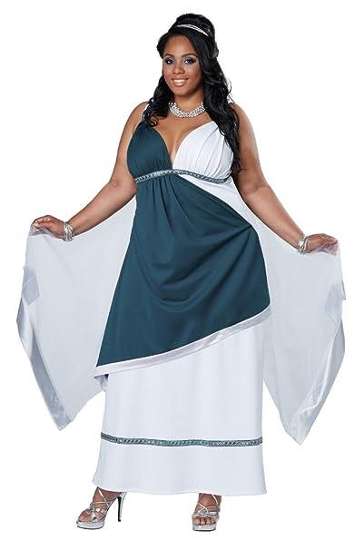 California Costumes Women\'s Plus-Size Roman Beauty Goddess Queen Long Dress  Plus