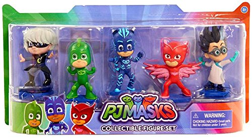 Just Play Pj Masks Collectible Figure Set (5 Pack) 2