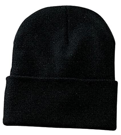 992973511d1 Amazon.com  Port   Company - Knit Cap. CP90 - Black  Clothing