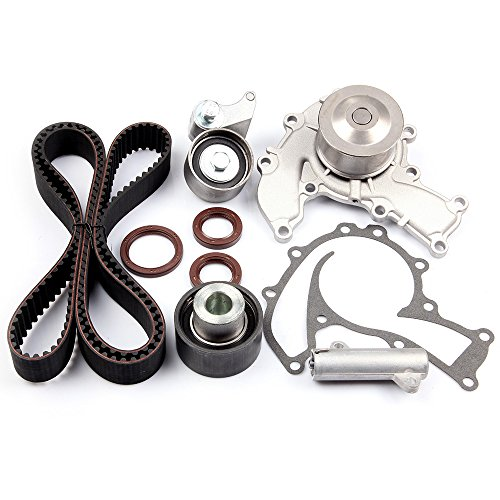 SCITOO Engine Timing Part Belt Set Timing Belt Kits, fit Isuzu Rodeo  Trooper 3 2L 1995-1997 Replacement Timing Tools with Tensioner and Water  Pump