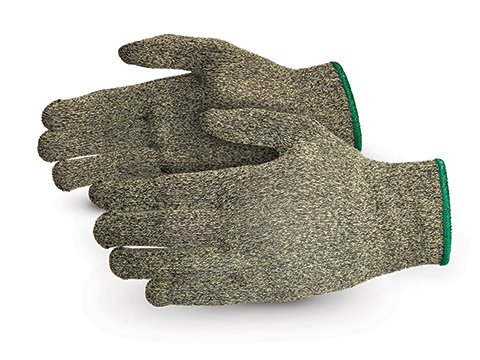 Superior S13KF Kevlar/Fiberglass String Knit Glove, Work, Cut Resistant, 13 Gauge Thickness, Size 8 (Pack of 1 Pair) - Kevlar String Knit Glove